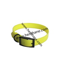 innocuous waterpoof tpu coated nylon collar for dog training