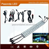 LED Magnet Strips bar light with aluminum profile movable outdoor nigh use