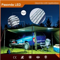 Outdoor emergency Led camping strip kit for outdoor night car repair with magnet at back