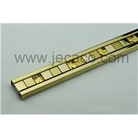 golden SUS decor trim,tile trim,border