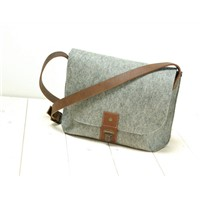 Felt Shoulder Bag Laptop Bag School Bag feltro/Feltro Laptop Bag/Filz Laptoptasche