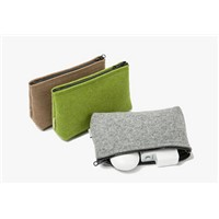 Felt Cosmetic Bag Storage Pouch Cosmetic Case