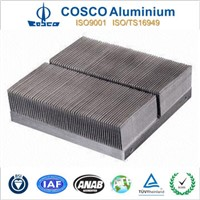 Aluminium skived fin heat sink