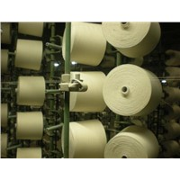 CVC 55/45 weaving yarn from China wanlong textile factory