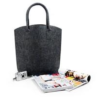 Felt Shopping Bag/panno in feltro/Sacchetto/Sac De Courses/Filz-Einkaufstasche
