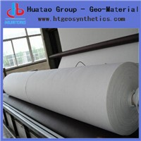 Needle punched non-woven geotextile