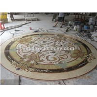 Marble Water-jet panel,Water Jet Medallion