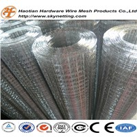 galvanized welded wire mesh roll cheap price manufacturer/supplier high quality