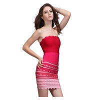 $30 Hever leger factory price elegant rose bandage dress