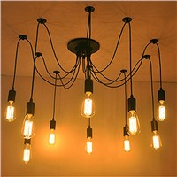 Industrial style pendant lighting 2015 pop Mimosa chandelier led lights
