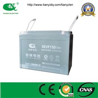 Gel battery 12v150ah lead acid battery  for electric  car