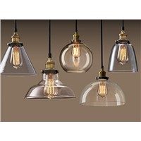 Modern Niche Glass Pendant Lamp bar lamps Italy design Vintage Chandelier Lighting Fixture