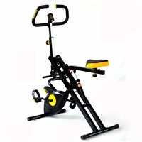 Crunch, Horse Rider, Body Crunch with Magnetic XBike