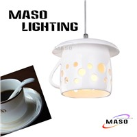 Latest Design Cup Shade Resin Pendant Lamp For Indoor Lighting Bar, Dining Room Restaurant P1036