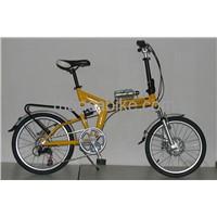 Stylish Folding Bike with Alloy Aluminum Material