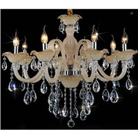 Decorative E14/E27 base 15 arms chandelier Led crystal lighting
