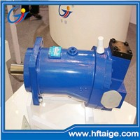 Hydraulic piston pump for extrusion machinery