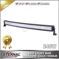 40in  240W 21500lm high power off road ATV UTV radius high power roof led light bar