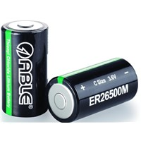 ER26500M LiSOCL2 battery spiral type