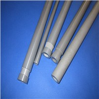 Gas Pressure Sintered  Sialon Ceramic Thermocouple Protection Tube for Temperatu