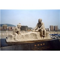 Large outdoor Antique Marble Stone Garden Statues for sale