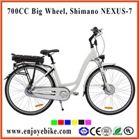 PE-TDB02Z  28inch/700C Electric bicycle/bikes,city e-bike, Kenda,Shimano brand parts
