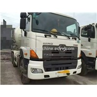 USED HINO cement mixer truck (2012Y)