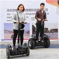 China Electric Chariot Segway Scooter with CE certificate