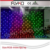 Disco Wedding LED Star Curtain Light /LED Star Cloth