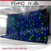 Disco Wedding LED Star Curtain Light /LED Star Cloth