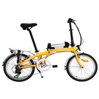 "20"" electric bicycle with 36V8Ah Lithium Battery"