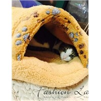 cat bed cat house paw print cotton inside also for dog bed dog house cute paw design cat mat