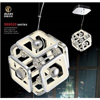 concision style acrylic led pendant lights