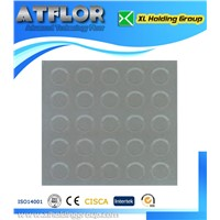 mini floating point rubber floor
