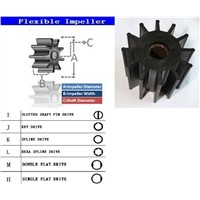 rubber impeller for Jabso Diesel generator pump