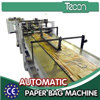 Automatic Bottom-pasted Paper Bags Making Machine