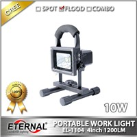 10W high power portable led work light for powersports off road industrial emergency vehicles