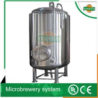 1000-20000L bright beer tanks BBTs / clear beer tanks CBTs for beer maturation and conditioning