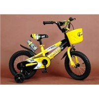 6-12years old Yellow kid bikes