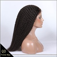 Kinky Curl Silk Top Full lace Wigs