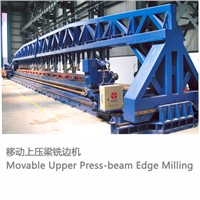 Movable Upper Press-beam Edge Milling Machine, edge milling machine