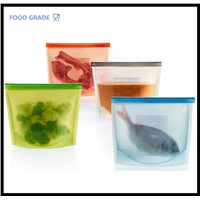 Silicone Fresh Bags Food Sealing Storage bag cooking tools
