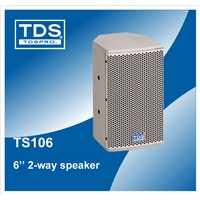 6.5inch Pro Speaker (TS106)  With 60W Rated Power