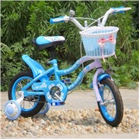 blue 5-8years old kid bikes
