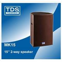 500W Rared Power  15inch Speakers MK15 For Portable Concert Speaker