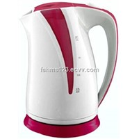 Electric Glass kettle 1.7L with colorful housing