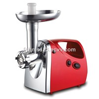 High performance meat grinder mincing capacity up to 1.5 kgs in 1 minute
