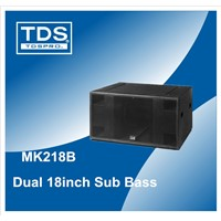Audio Vishual Power Subwoofer  (MK218B) With 1200W Rated Power