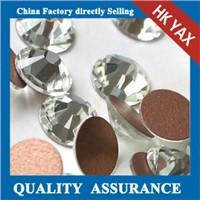 China supplier high quality crystal hotfix rhinestone 7A 8A swainstone decoraion on garment