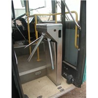 Semi-automatic Tripod Turnstile for Bus Entrance Control E-ticketing System